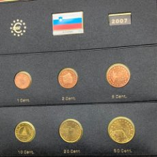 Monedas antiguas de Europa: COLECCIÓN MONEDAS DE € 2007 SLOVENIA SIN CIRCULAR. Lote 254669905