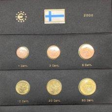 Monedas antiguas de Europa: COLECCIÓN MONEDAS DE € FINLANDESAS 2000 SIN CIRCULAR. Lote 254669940