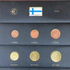 Monedas antiguas de Europa: COLECCIÓN MONEDAS DE € FINLANDESAS 1999 SIN CIRCULAR. Lote 254669980