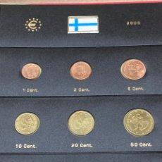 Monedas antiguas de Europa: COLECCIÓN MONEDAS DE € FINLANDESAS 2001SIN CIRCULAR. Lote 254670010