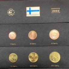 Monedas antiguas de Europa: COLECCIÓN MONEDAS € FINLANDESAS 2002 SIN CIRCULAR MÁS. Lote 254670035