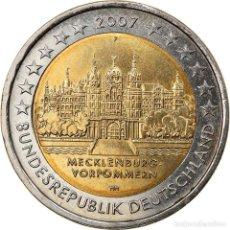 Monedas antiguas de Europa: ALEMANIA - REPÚBLICA FEDERAL, 2 EURO, 2007, STUTTGART, SC, BIMETÁLICO, KM:260. Lote 254670055