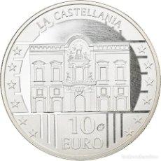 Monedas antiguas de Europa: MALTA, 10 EURO, LA CASTELLANIA, 2009, PARIS, BE, FDC, PLATA, KM:133. Lote 254670060