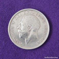 Monedas antiguas de Europa: MONEDA DE GRAN BRETAÑA. JORGE V. 1/2 CORONA CROWN. 1919. PLATA 925. ESCASA. BONITA.. Lote 254935620