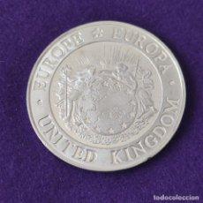Monedas antiguas de Europa: MONEDA DE GRAN BRETAÑA. 25 ECUS. 1992. NEPTUNO Y EUROPA. PLATA 925. CALIDAD PROOF.. Lote 254935890