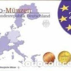 Monedas antiguas de Europa: ALEMANIA 2003. SERIE COMPLETA EUROS. CECA A. PROOF. Lote 254953980
