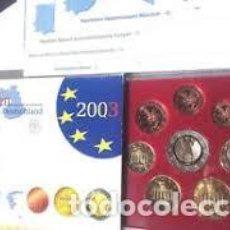 Monedas antiguas de Europa: ALEMANIA 2003. SERIE COMPLETA EUROS. CECA J. PROOF. Lote 254954255