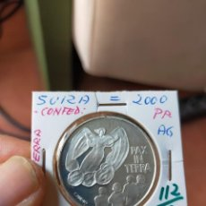 Monedas antiguas de Europa: MONEDA DE 20 VEINTE FRANCOS 2000 PRUEBA PLATA PAX IN TERRA. Lote 254993420