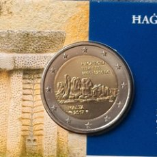 Monedas antiguas de Europa: MALTA 2017 2 EUROS CONMEMORATIVOS COINCARD BU HAGAR QIM. Lote 254996010