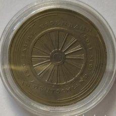 Monedas antiguas de Europa: ALEMANIA - 1985 - 5 MARCOS 150 AÑOS TREN ALEMÁN - CAT. SCHOEN Nº 162 (PK)163 - ENCAPSULADA - EBC. Lote 255586860