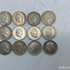 Monedas antiguas de Europa: LOTE DE 12 MONEDAS DE SUIZA. 20 RAPPEN. TODAS DE DIFERENTES AÑOS. DEL 1882-2007. VER. Lote 255937240
