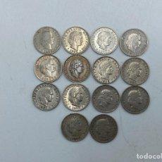 Monedas antiguas de Europa: LOTE DE 14 MONEDAS DE SUIZA. 20 RAPPEN. TODAS DE DIFERENTES AÑOS. DEL 1885-1976. VER. Lote 255942325