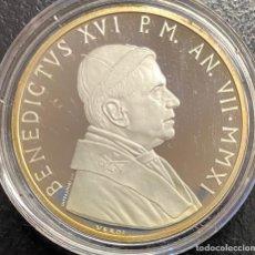 Monedas antiguas de Europa: VATICANO, MONEDA DE PLATA DE 10 EUROS DEL AÑO 2011. Lote 255943090