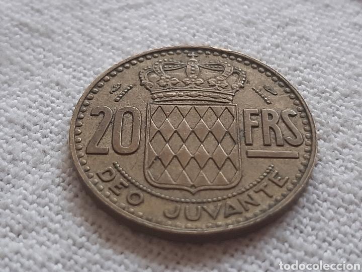 Monedas antiguas de Europa: (MÓNACO) LOTE DE MONEDAS DEO JUVANTE - Foto 3 - 256019575