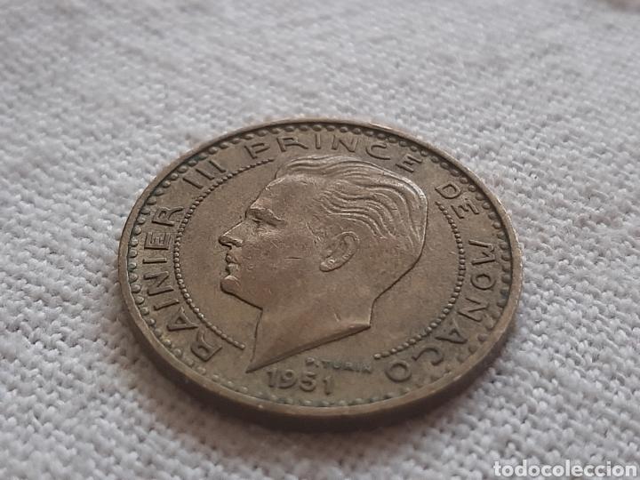 Monedas antiguas de Europa: (MÓNACO) LOTE DE MONEDAS DEO JUVANTE - Foto 5 - 256019575