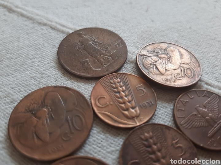 Monedas antiguas de Europa: (ITALIA) LOTE DE MONEDAS VITTORIO EMANUELE III - Foto 4 - 256021695