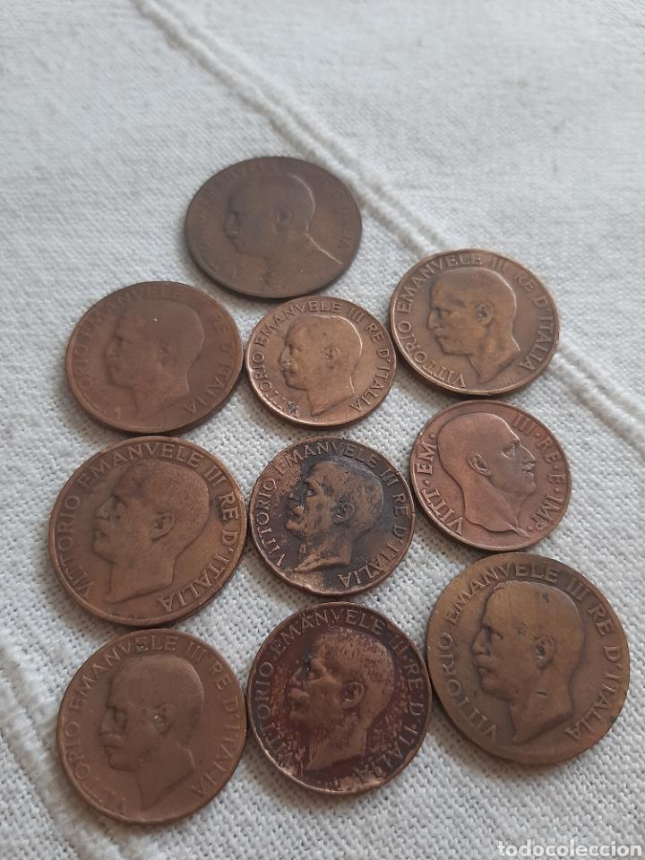 Monedas antiguas de Europa: (ITALIA) LOTE DE MONEDAS VITTORIO EMANUELE III - Foto 6 - 256021695