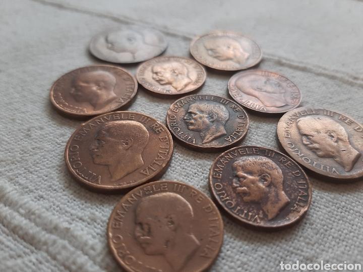 Monedas antiguas de Europa: (ITALIA) LOTE DE MONEDAS VITTORIO EMANUELE III - Foto 7 - 256021695