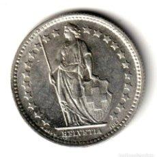 Monedas antiguas de Europa: SUIZA 1/2 FRANCO PLATA 1958 B - HELVETIA - SWITZERLAND HALF FRANC SILVER. Lote 257276105
