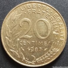 Monedas antiguas de Europa: MONEDA - FRANCIA 20 CENTIMOS 1987 - ENVIO GRATIS A PARTIR DE 35€. Lote 257276760
