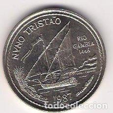 Monedas antiguas de Europa: 100 ESCUDOS - PORTUGAL - 1987 - NUNO TRISTÃO - DIFICIL - FOTOS. Lote 257285420