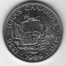 Monedas antiguas de Europa: 100 ESCUDOS - PORTUGAL - 1989 - CANARIAS - DIFICIL - FOTOS. Lote 257286300