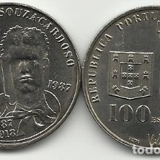 Monedas antiguas de Europa: 100 ESCUDOS - PORTUGAL - 1987 - SOUZA CARDOSO - DIFICIL - FOTOS. Lote 257287545