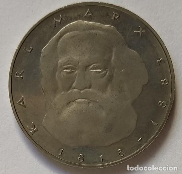 Monedas antiguas de Europa: ALEMANIA - 1983 - 5 MARCOS - EBC - CAT. SCHOEN Nº 157 (PK 157) - KARL MARX - Foto 2 - 257297870