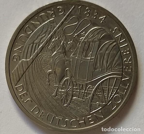 Monedas antiguas de Europa: ALEMANIA - 1984 - 5 MARCOS - MUY EBC - CAT. SCHOEN Nº 159 (PK 160) - 150 AÑOS ADUANA ALEMÁN - Foto 2 - 257298840