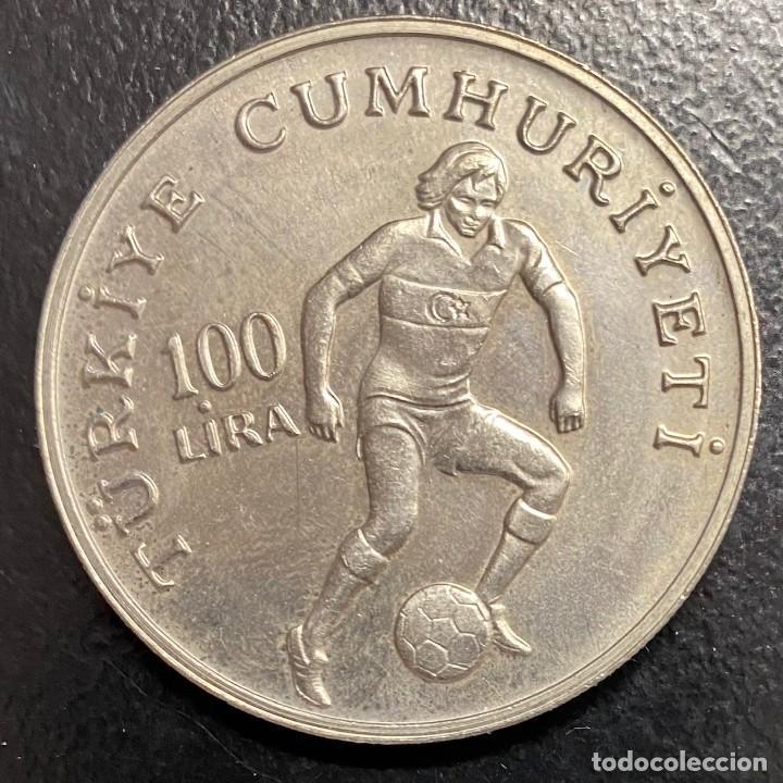 Monedas antiguas de Europa: TURQUÍA, MONEDA DE 100 LIRAS DEL AÑO 1982 - Foto 2 - 257384310