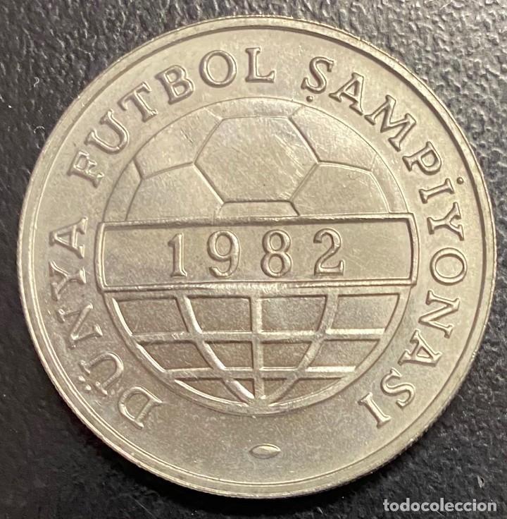 TURQUÍA, MONEDA DE 100 LIRAS DEL AÑO 1982 (Numismática - Extranjeras - Europa)