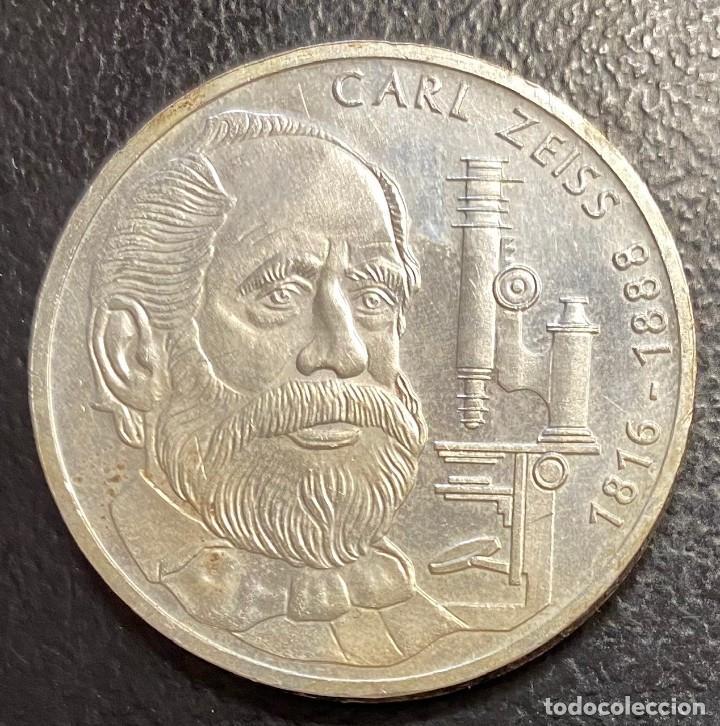 ALEMANIA, MONEDA DE PLATA DE 10 MARCOS DEL AÑO 1988F (Numismática - Extranjeras - Europa)