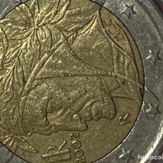 Monedas antiguas de Europa: AUTENTICA MONEDA ERROR DANTE ALLIGUIERI 2002. Lote 257559240