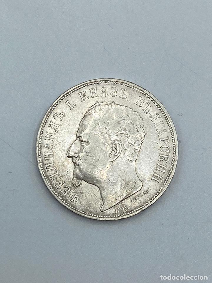 Monedas antiguas de Europa: MONEDA. BULGARIA. 5 JEBA. 1892. VER FOTOS - Foto 2 - 277640298