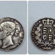 Monedas antiguas de Europa: MONEDA. GRAN BRETAÑA. VICTORIA. 1 CROWN. 1845. VER FOTOS. Lote 257789180