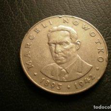 Monete antiche di Europa: POLONIA 20 ZLOTYCH 1976 MW. Lote 258801055