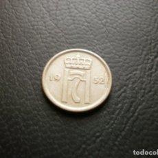 Monete antiche di Europa: NORUEGA 10 ORE 1952. Lote 259027490