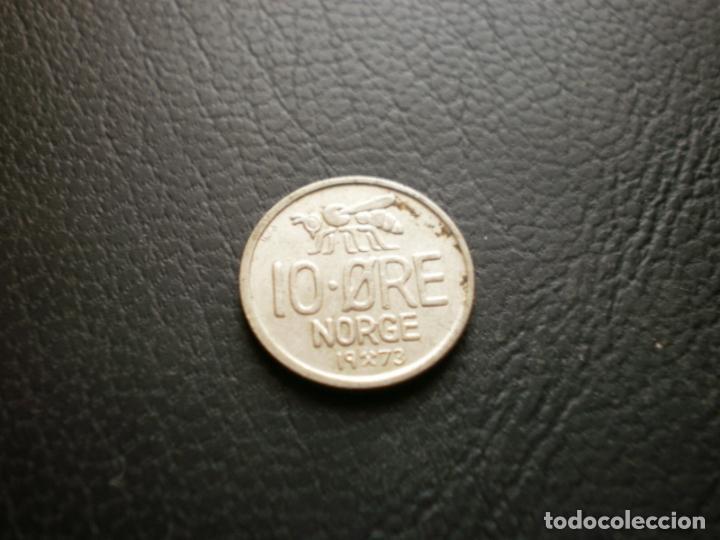 NORUEGA 10 ORE 1973 (Numismática - Extranjeras - Europa)