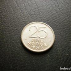 Monete antiche di Europa: NORUEGA 25 ORE 1975. Lote 259029655