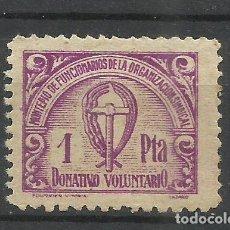 Monedas antiguas de Europa: 177-MONTEPIO DE FUNCIONARIOS DE LA ORGANIZACIÓN SINDICAL. 1 PTA.FALANGE , SINDICALISTA,SINDICATO. Lote 259762580