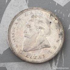 Monedas antiguas de Europa: LITUANIA 5 LITAI 1936 PLATA. Lote 260537035