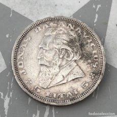 Monedas antiguas de Europa: LITUANIA 5 LITAI 1936 PLATA. Lote 260537300