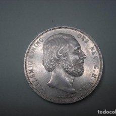 Monedas antiguas de Europa: HOLANDA, 2 1/2 GULDEN DE PLATA DE 1872. REY GUILLERMO III.. Lote 260723500