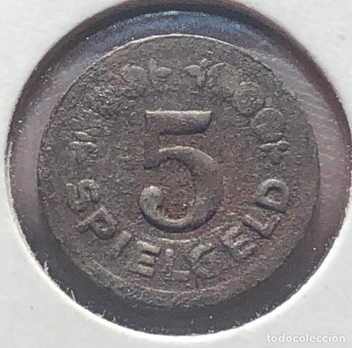 Monedas antiguas de Europa: Alemania Germany Notgeld Spielgeld 5 Pfening 1920 - Foto 2 - 260783915