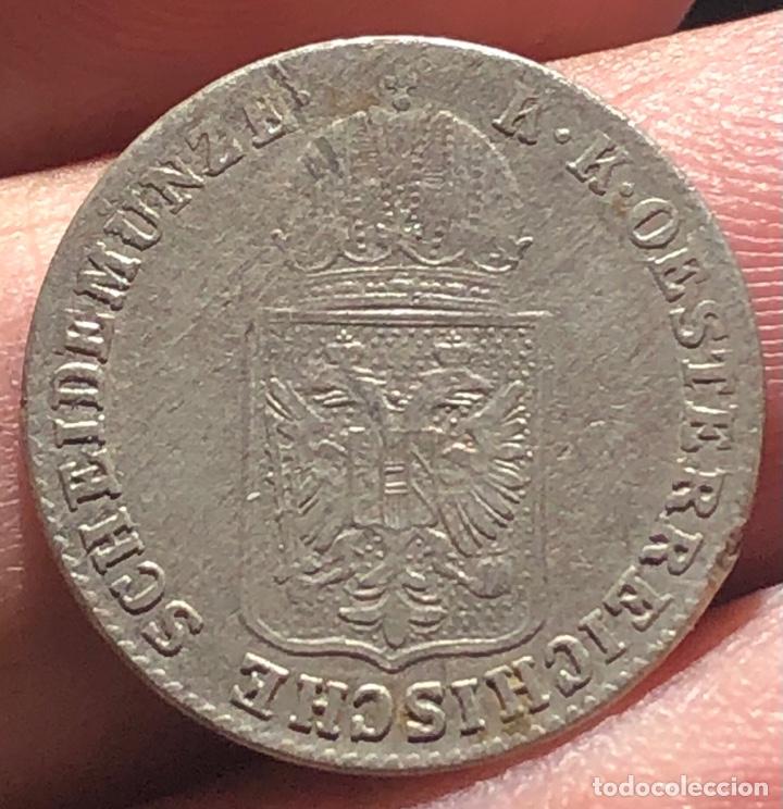 IMPERIO AUSTRO HÚNGARO KM2199 PRAGA 6 KREUZER 1848A PLATA (Numismática - Extranjeras - Europa)