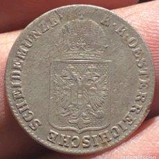 Monedas antiguas de Europa: IMPERIO AUSTRO HÚNGARO KM2199 PRAGA 6 KREUZER 1848A PLATA. Lote 260784040