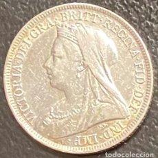 Monedas antiguas de Europa: GRAN BRETAÑA, MONEDA DE 1 CHELÍN DEL AÑO 1897. Lote 260819010