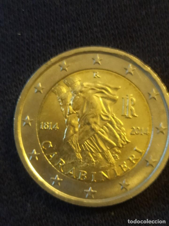 2 EUROS ITALIA 2014 CARABINIERI (Numismática - Extranjeras - Europa)