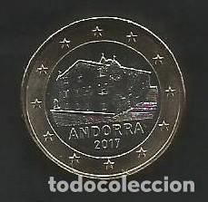 Monedas antiguas de Europa: ANDORRA 2017 - 1 EURO SC - ¡¡¡¡¡RARISIMO!!!!! - Foto 3 - 261102735