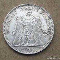 Monedas antiguas de Europa: FRANCIA - 5 FRANCOS 1875 A - MBC-. Lote 261348475